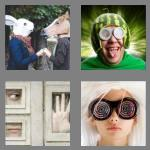 4 pics 1 word 5 letters weird