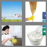 4 pics 1 word 5 letters whisk