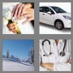 4 pics 1 word 5 letters white