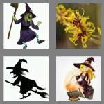 4 pics 1 word 5 letters witch