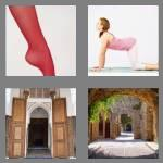 4 pics 1 word 6 letters arched