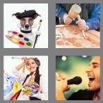 4 pics 1 word 6 letters artist