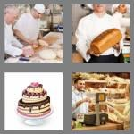 4 pics 1 word 6 letters bakery