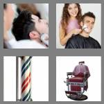 4 pics 1 word 6 letters barber