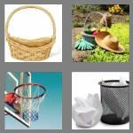 4 pics 1 word 6 letters basket