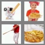 4 pics 1 word 6 letters batter