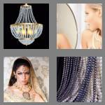 4 pics 1 word 6 letters beaded