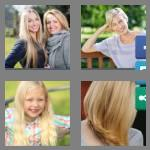 4 pics 1 word 6 letters blonde
