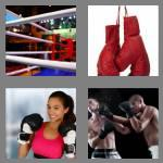 4 pics 1 word 6 letters boxing