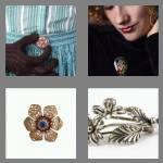 4 pics 1 word 6 letters brooch