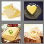 4 pics 1 word 6 letters butter