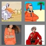 4 pics 1 word 6 letters caftan