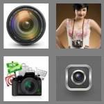 4 pics 1 word 6 letters camera
