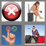 4 pics 1 word 6 letters cancel