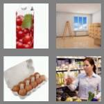 4 pics 1 word 6 letters carton