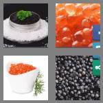 4 pics 1 word 6 letters caviar