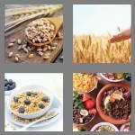 4 pics 1 word 6 letters cereal
