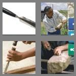 4 pics 1 word 6 letters chisel