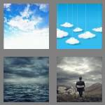 4 pics 1 word 6 letters cloudy