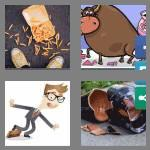 4 pics 1 word 6 letters clumsy