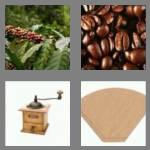 4 pics 1 word 6 letters coffee