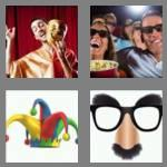 4 pics 1 word 6 letters comedy