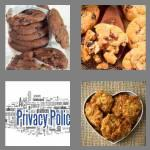 4 pics 1 word 6 letters cookie