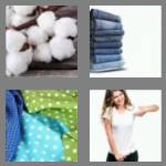 4 pics 1 word 6 letters cotton