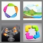 4 pics 1 word 6 letters cyclic