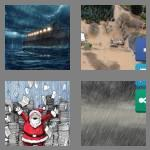 4 pics 1 word 6 letters deluge