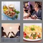 4 pics 1 word 6 letters dinner