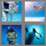 4 pics 1 word 6 letters diving