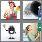 4 pics 1 word 6 letters duster