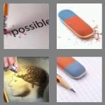4 pics 1 word 6 letters eraser