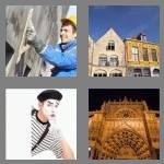 4 pics 1 word 6 letters facade