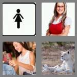 4 pics 1 word 6 letters female