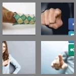 4 pics 1 word 6 letters finger