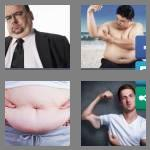 4 pics 1 word 6 letters flabby