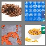 4 pics 1 word 6 letters flakes