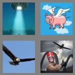 4 pics 1 word 6 letters flying