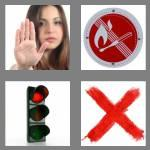 4 pics 1 word 6 letters forbid