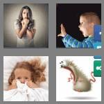 4 pics 1 word 6 letters fright