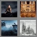 4 pics 1 word 6 letters gothic