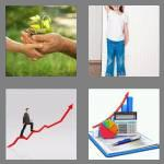 4 pics 1 word 6 letters growth