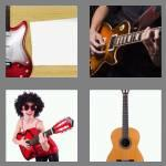 4 pics 1 word 6 letters guitar