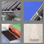 4 pics 1 word 6 letters gutter