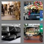 4 pics 1 word 6 letters hearse