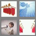 4 pics 1 word 6 letters herald