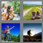 4 pics 1 word 6 letters hiking