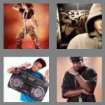 4 pics 1 word 6 letters hiphop